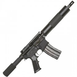 "Bushmaster Patrolman's AR XM15 10.5"" 223 Rem Black"