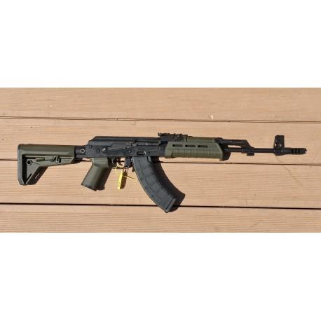 AKM47 Warrior II Mil Spec semi auto 415 mm barrel cal. 7,62x39 Olive Drab