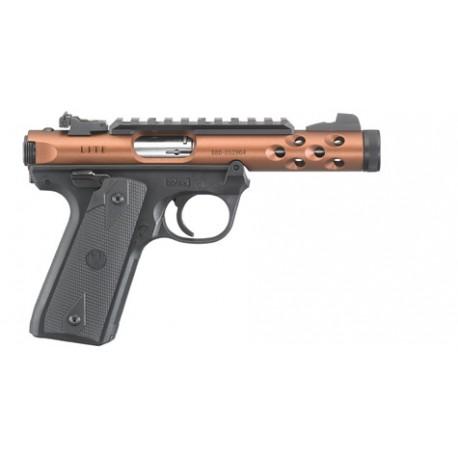 """Ruger Pistol Mark IV 22/45 Lite Cal. 22 LR 4.40"""" Bronz Anodize"""