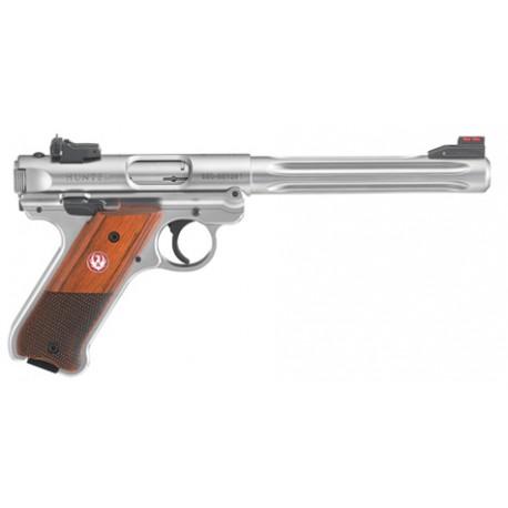 """Ruger Pistol Mark IV Hunter Cal. 22 LR 6.88"""" Satin Stainless"""