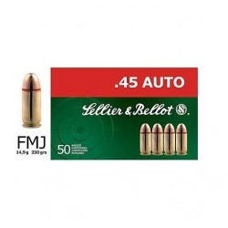 SB .45 ACP FMJ 230 gr NONTOX Box of 50