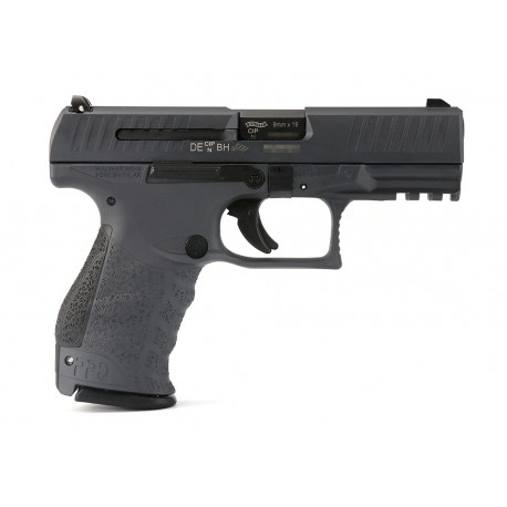 "Walther PPQ M2 4"" barrel Stealth Gray Cal. 9x19"