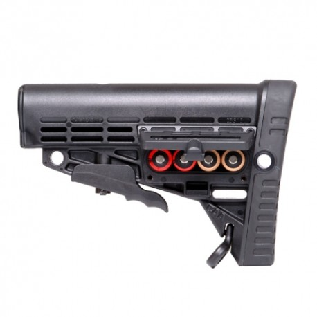 Collapsible Butt Stock Polymer Made Black