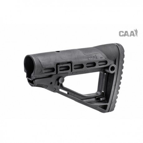 Collapsible Skeleton Butt Stock Polymer Made Black
