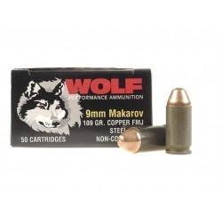 Wolf 9 mm Makarov FMJ