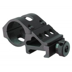 "45 Degree offside ring mount for 1"" flashlight"
