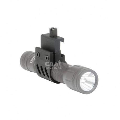 Aluminium Picatiny Flashlight/Laser (25.4mm)
