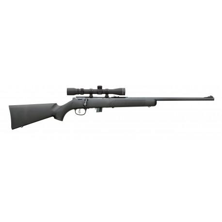 """Marlin carabine à répétition XT-22RO Combo 22 LR 22"""" bronzé crosse synthétique incl. lunette 3-9x32"""
