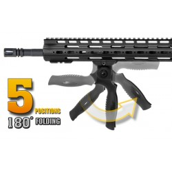 UTG All-in-One Apache Foregrip Multi-angle Grip-Black