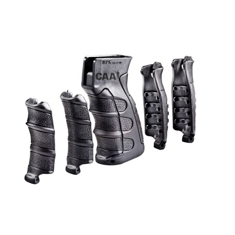 6 Piece Interchangeable Pistol Grip for AK47/SA58/Galil Black