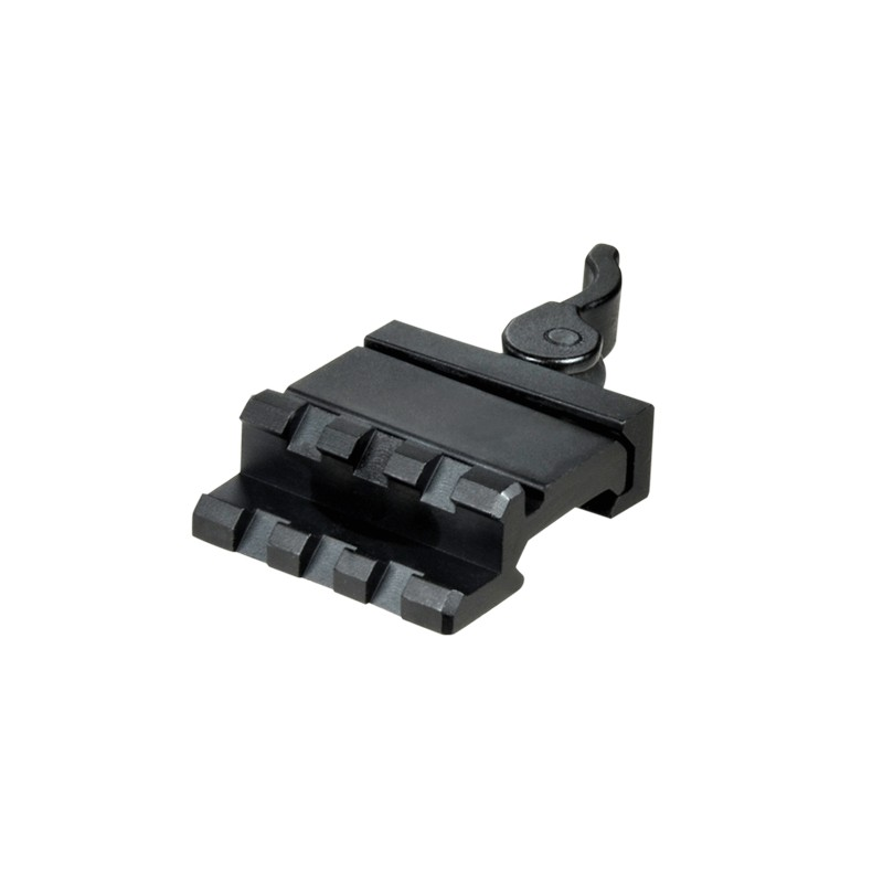 Lever Locking System : Utg le rated slot single rail angle mount w integral qd