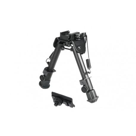 "UTG Super Duty Tactical Op QD Bi-pod, Cent Ht:5.9""- 7.3"", Leg Length:5.5""-7.4"""