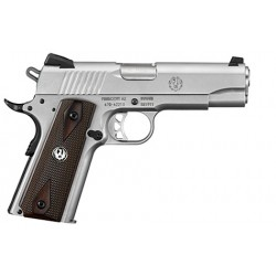 "Ruger Pistol SR1911CMD low glare stainless 4.25"" cal. .45ACP"