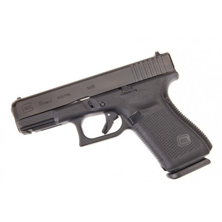 Glock 19 Gen5 9x19mm Para - Black Compact Size