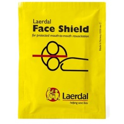 Laerdal Face Shield for CPR rescue breathing