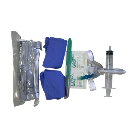 Surgical Arway Kit with tracheal hook