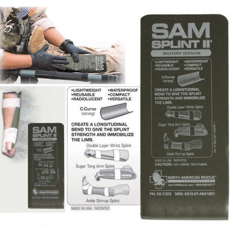 SAM Splint Green