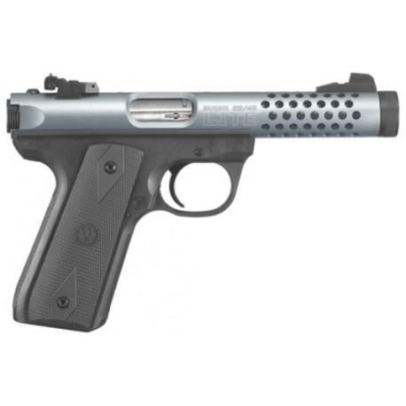 """Ruger Pistol 22/45 Lite Cal. 22 LR 4""""1/2 Cobalt Anodize"""