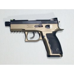 SDP Compact Krypton Green 9x19 Manual Safety 15 rds, THD Barrel, aloy finish, HALO sight
