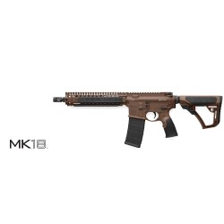 "Daniel Defense M4 MK18 SBR 10.3"" 223 Rem Brown MilSpec+"