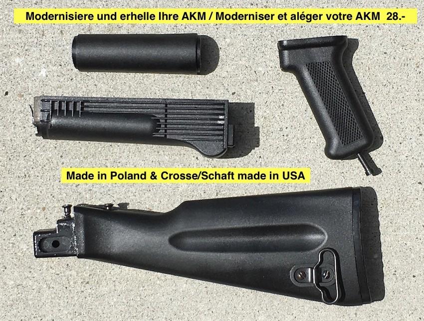 Moderniser et aléger votre AKM